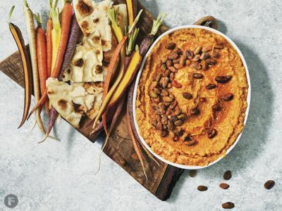 Orange-Scented Butternut Squash Hummus