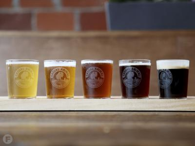 Casual Animal Brewing Co. Flight