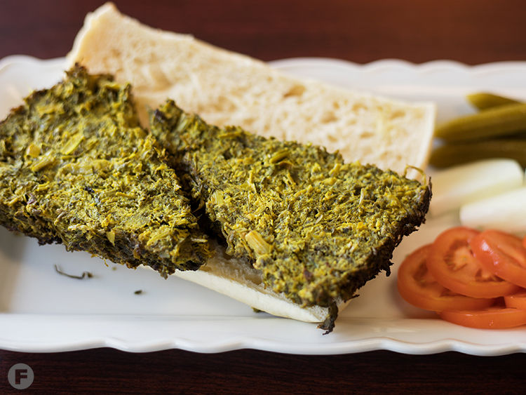 Esther's Persian Cafe Kookoo Sabzi