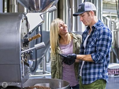 Kaleidoscope Craft Brew Coffee Chris and Elizabeth Thele