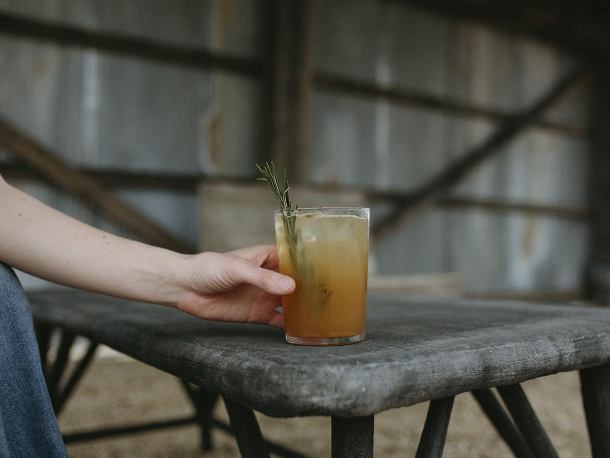 The Workshop at Finley Farms Rosemary-Blood Orange Lemonade