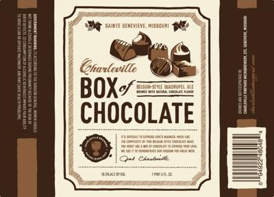 Charleville's Box of Chocolate Belgian Quad Ale