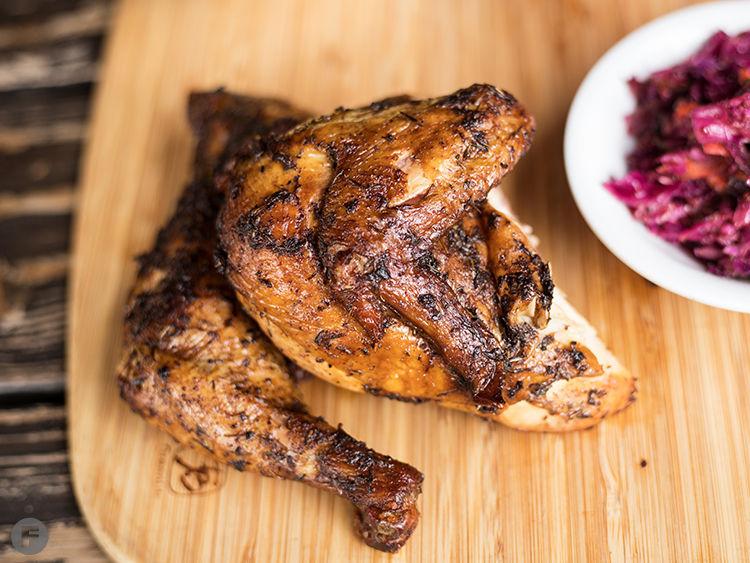 Knockout BBQ Half Chicken