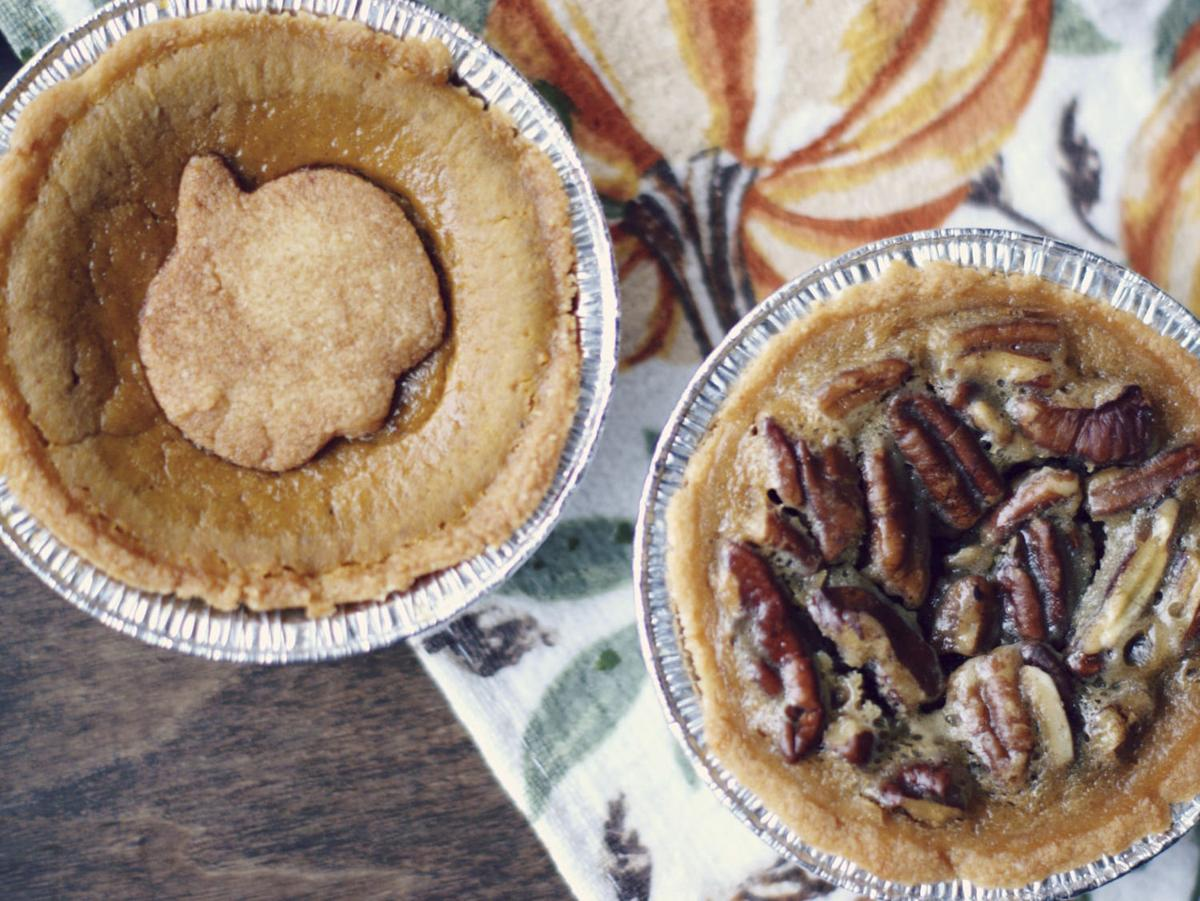MadHouse Bakes Mini Pumpkin and Pecan Pies
