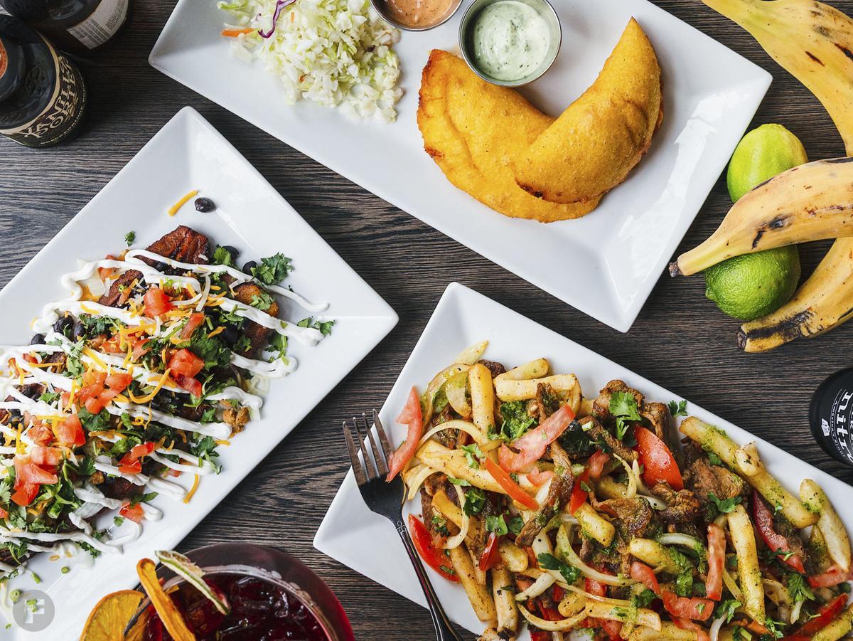Sabor Latino Dishes