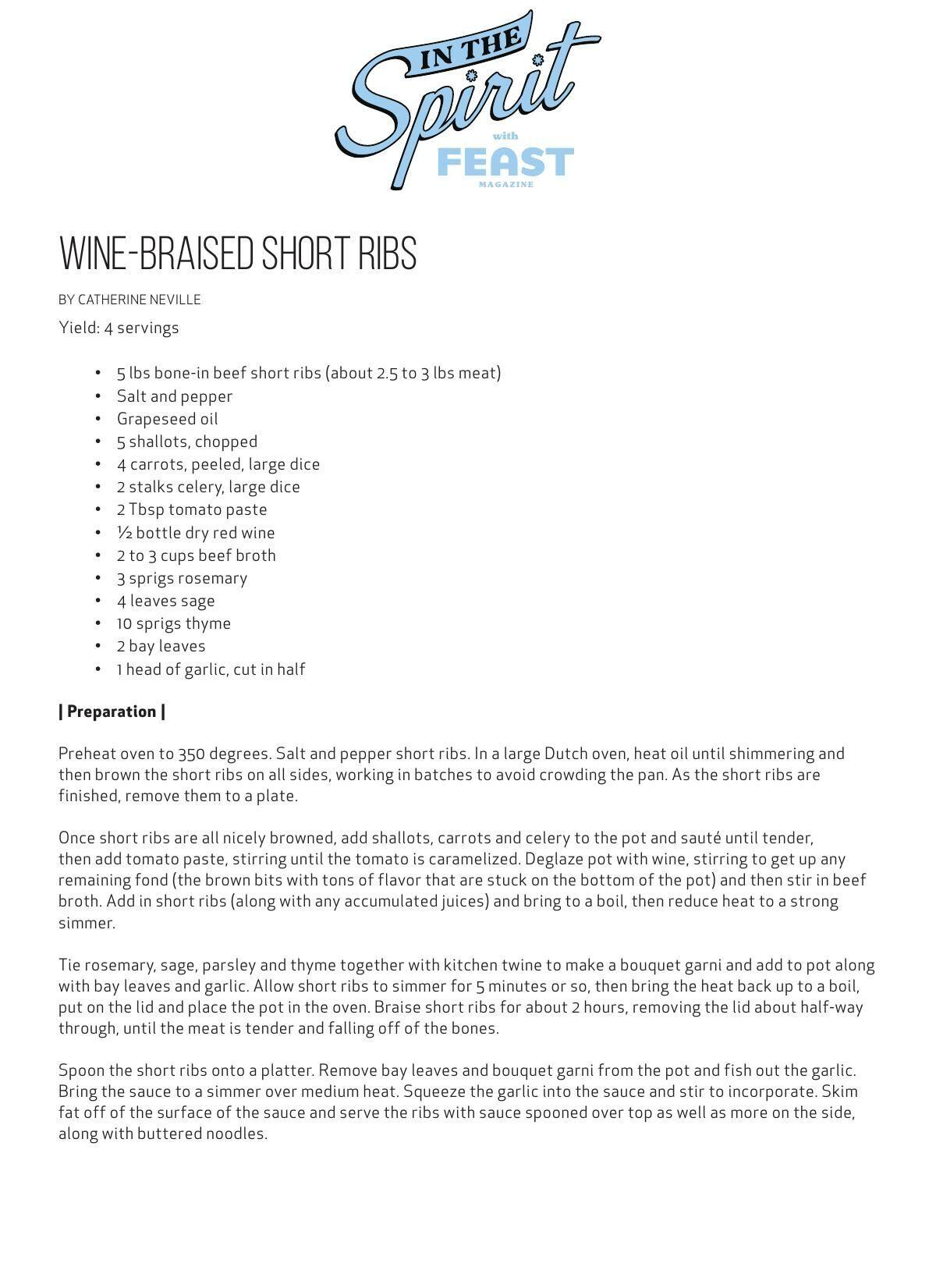 Download the wine-braised short ribs recipe here