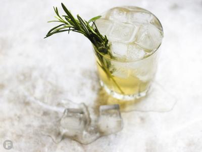 Rosemary-Gin Fizz