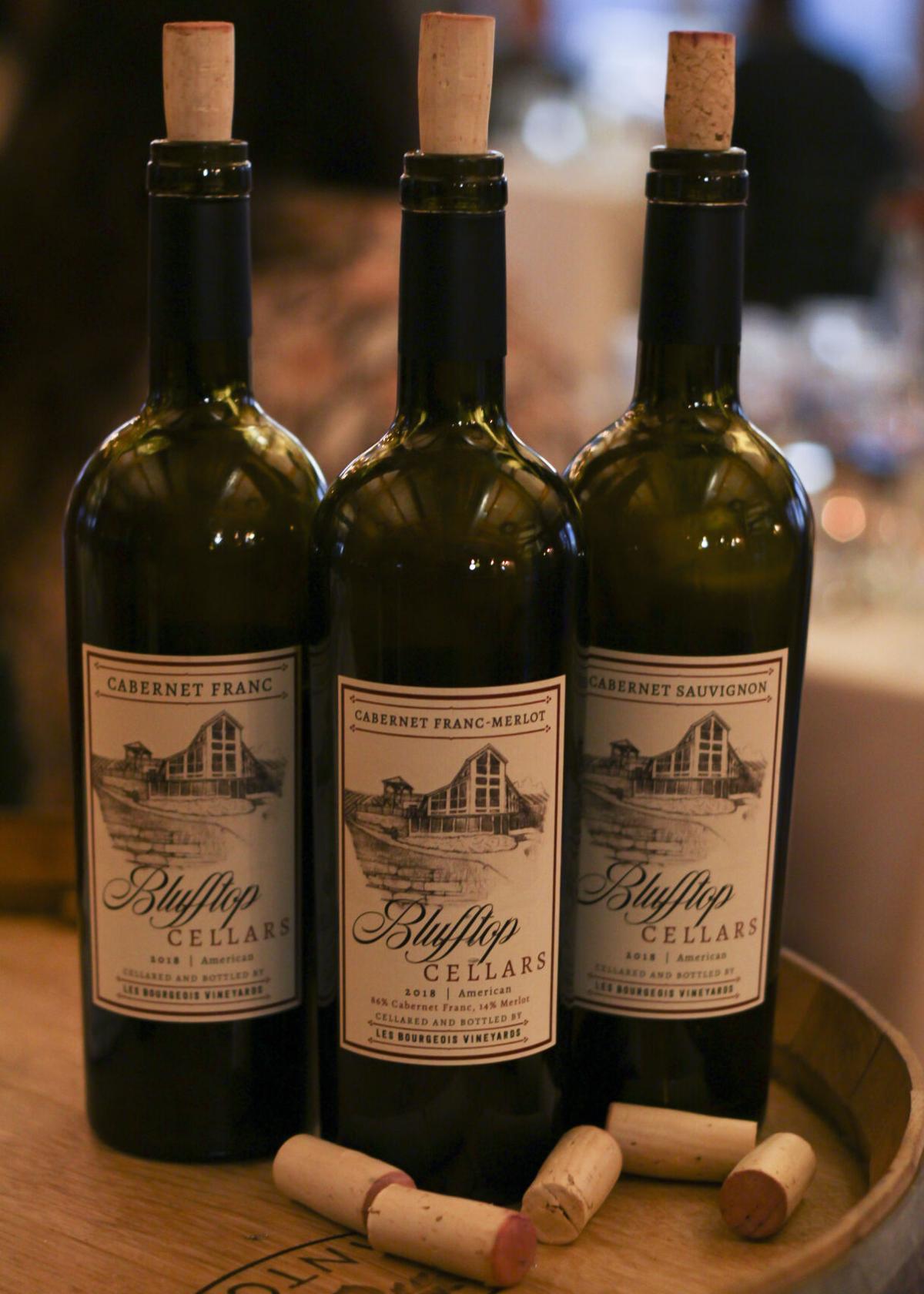 Blufftop Cellars wines