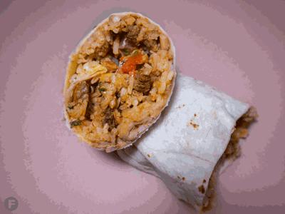 Burrito from Crazy Good Burritos