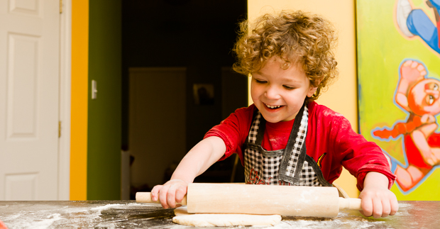 COOKING WITH KIDS: Roll, Roll, Roll the Dough: A Lesson in Pasta Making