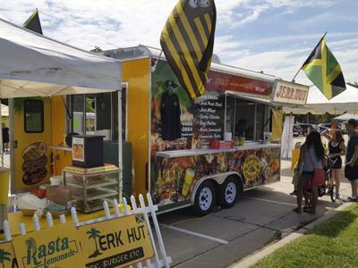 Jamaican Jerk Hut Truck