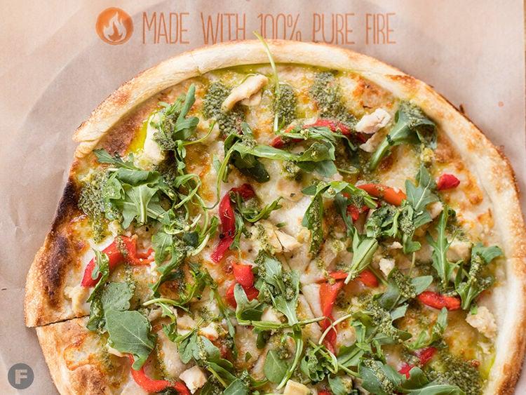 Blaze Pizza Green Stripe