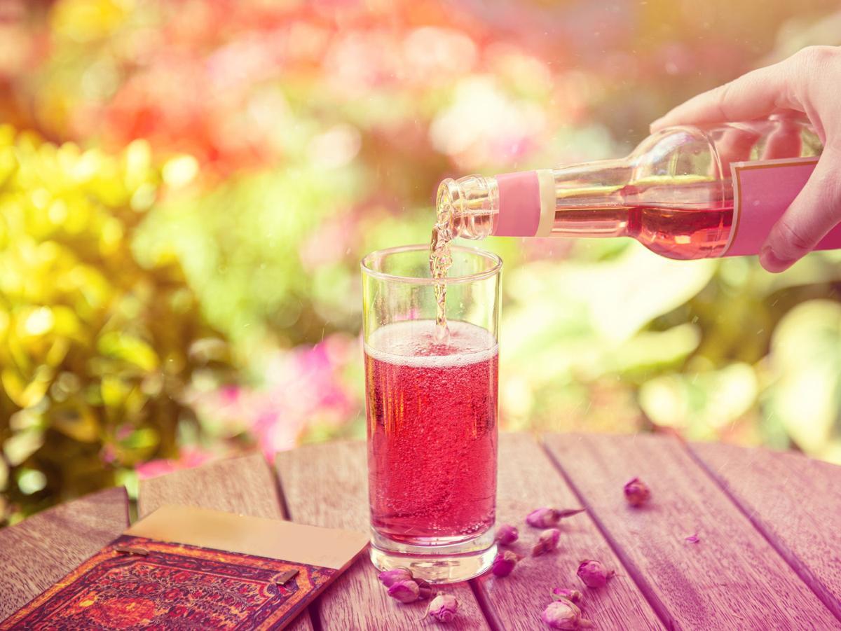 Sparkling Strawberry Cognac