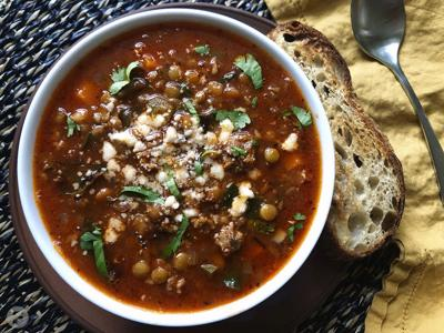 Spicy Chorizo and Lentil Soup