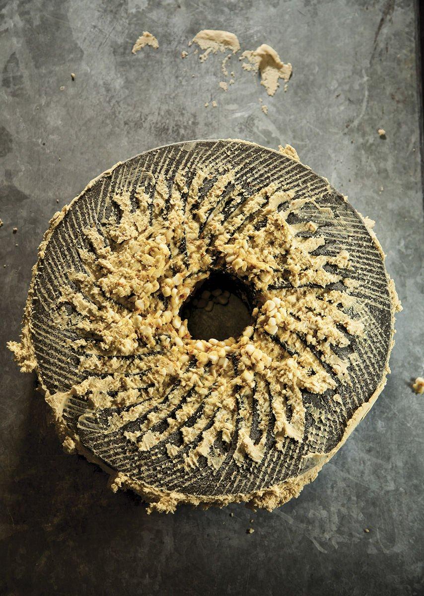 Volcanic stones grind corn into masa