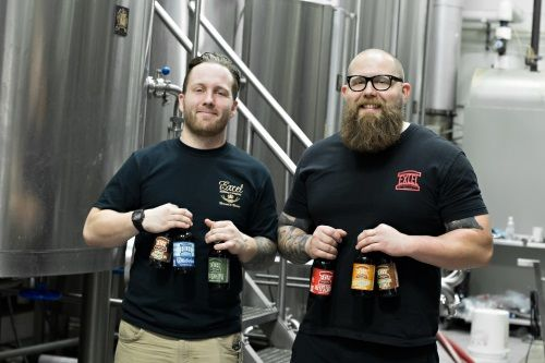 Excel Brewing's Ron Burguiere and John Donahoe
