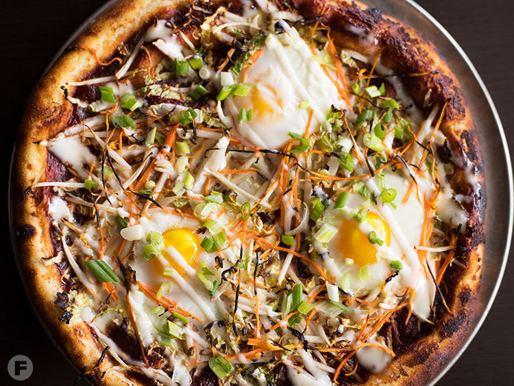 Cafe Coeur Okonomiyaki Pizza