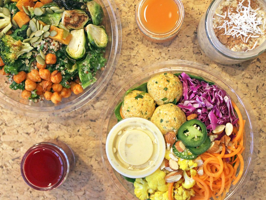 Source Juicery Dishes