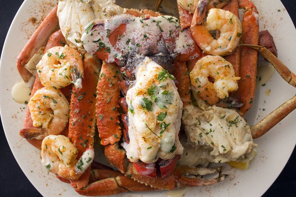 Seafood By Crushed Velvet Under the Sea Platter