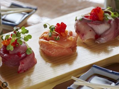 Bob Wasabi Kitchen sashimi