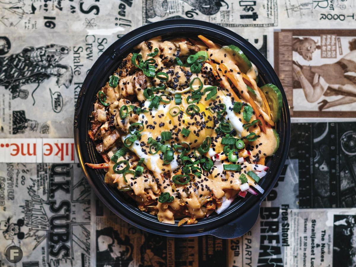 Tiny Chef Bibimbap Bowl