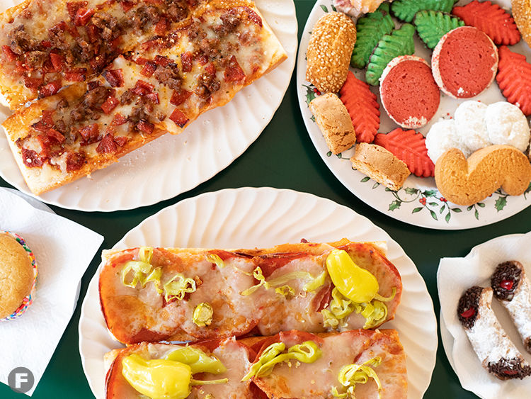 Colino's Cafe & Bakery Dishes