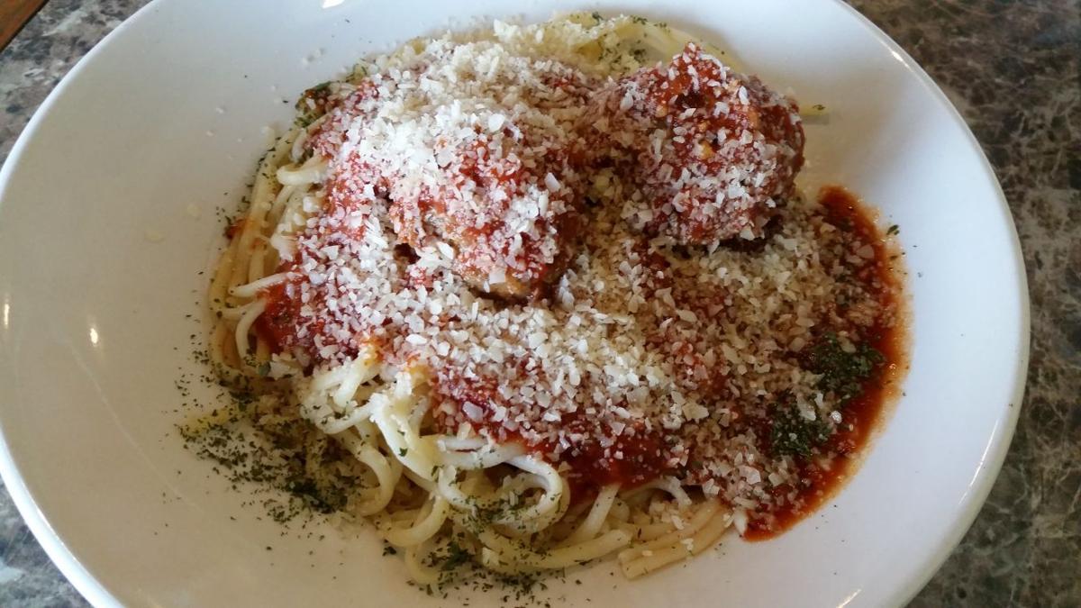 Salvatore's Fresh Ristorante Italiano: Spaghetti and Meatballs