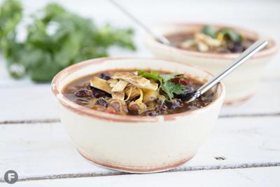 Three-Bean Taco Soup