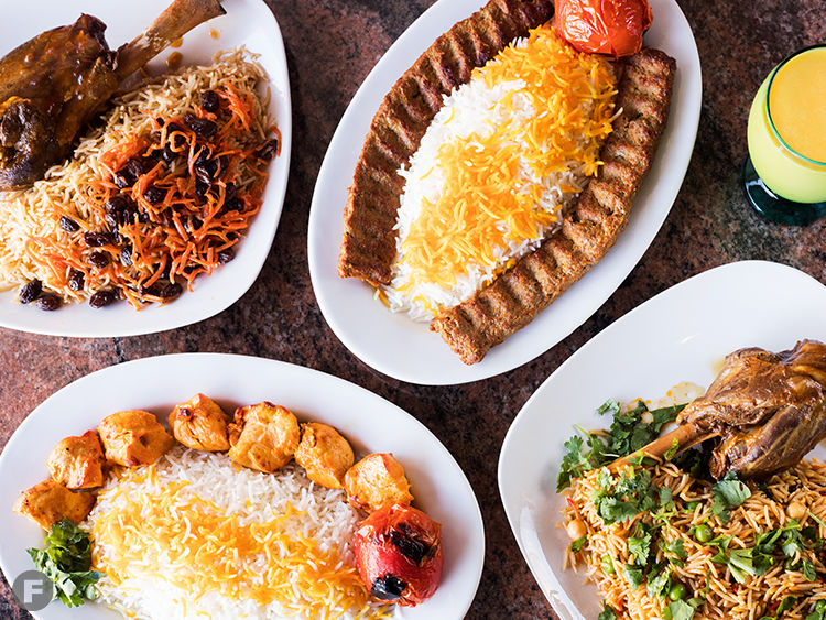 Taste of Persia Dishes