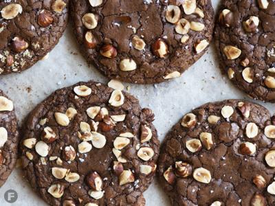 Hazelnut Truffle Cookies
