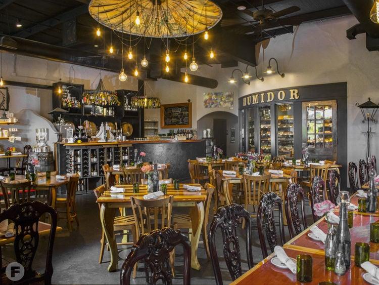 The Vineyard Market Interior
