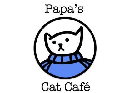 Papa's Cat Café Logo