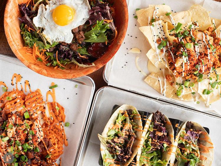 Seoul Taco Dishes