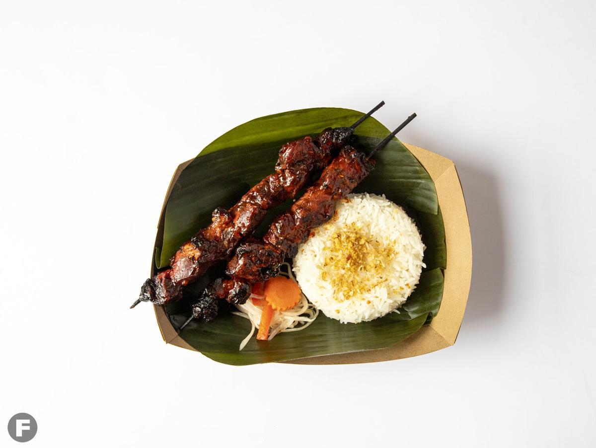 Fattened Caf Pork barbecue