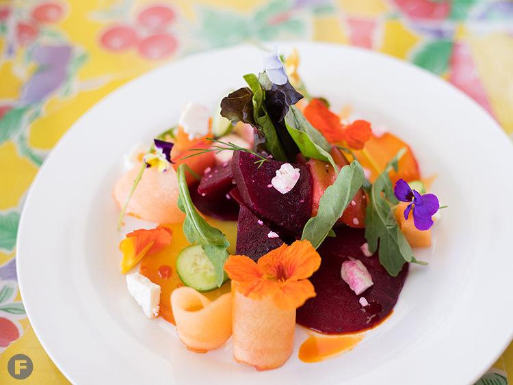 Alta Calle Beet-Melon Salad