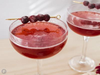 Cranberry-Herb Cocktail