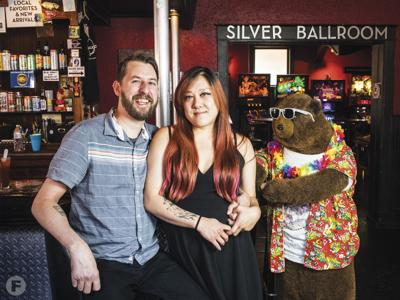 Chris Ward and Melanie Meyer of Party Bear Pizza and Tiny Chef