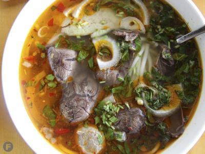 Pho Sai Gon Spicy Beef with Rice Noodles