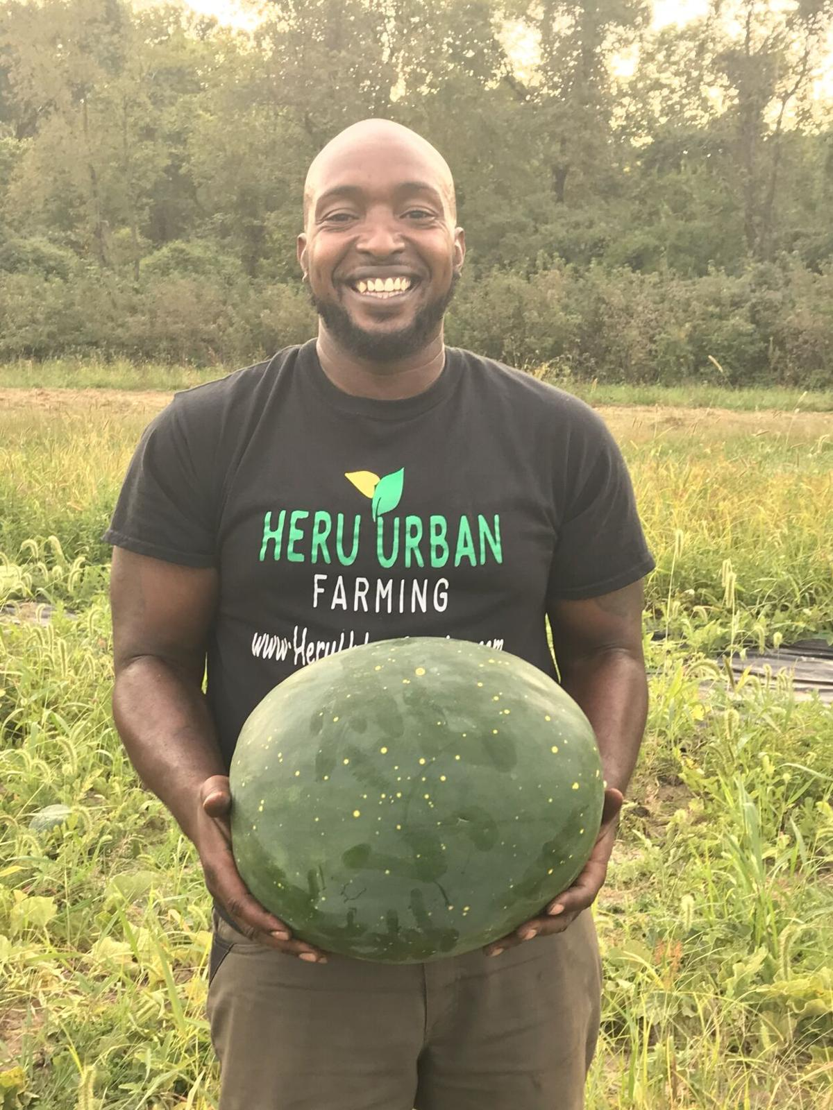 Heru Urban Farming watermelon