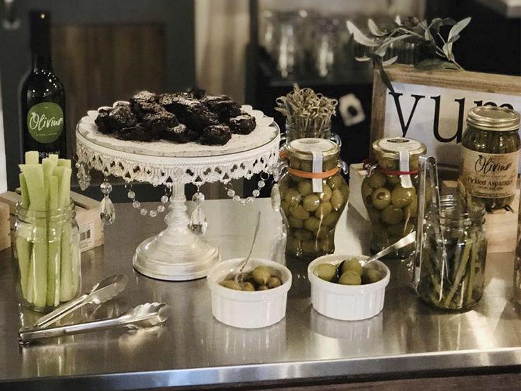 Olivino Tasting Bar Products