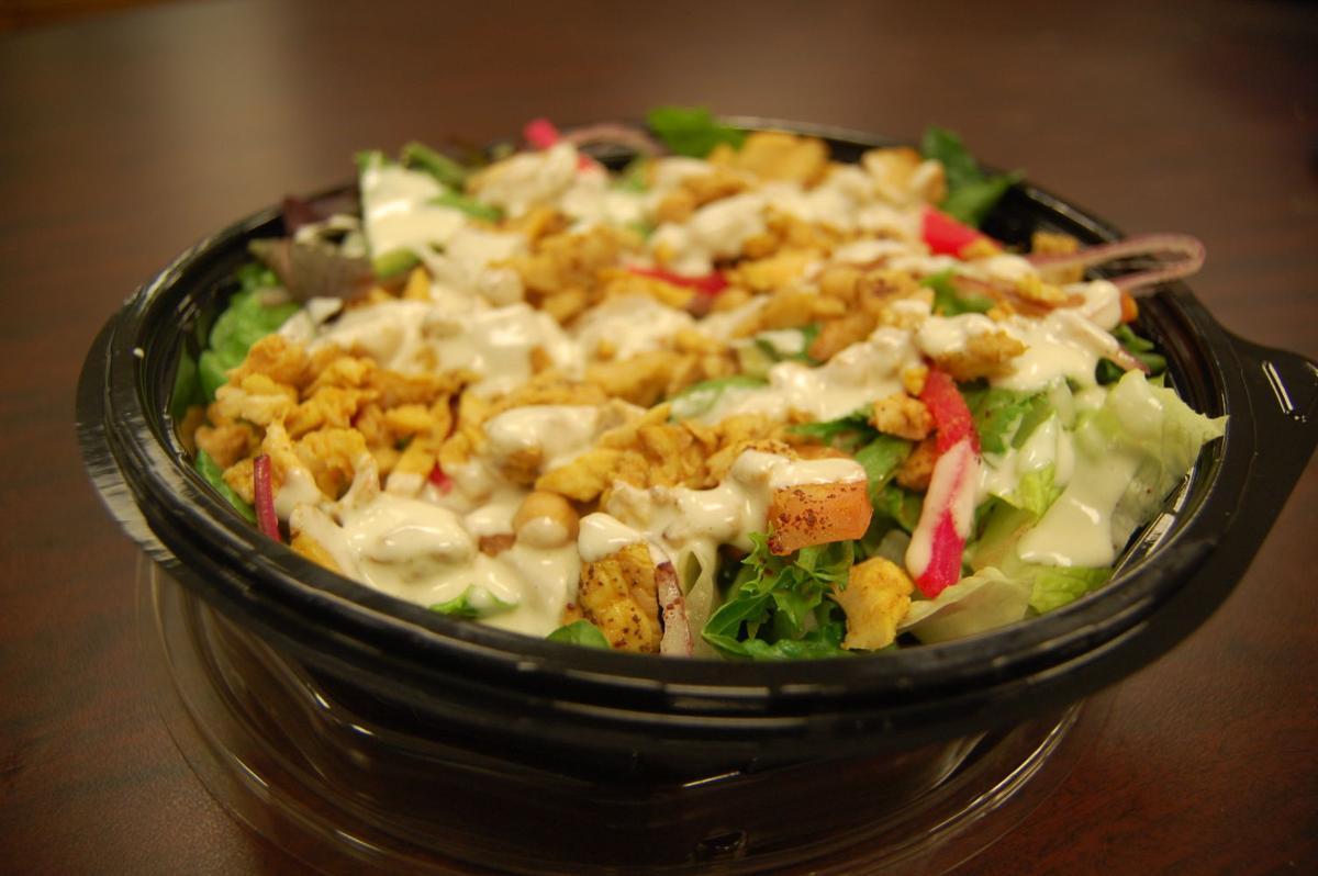 Medina Mediterranean Grill Shawarma Salad