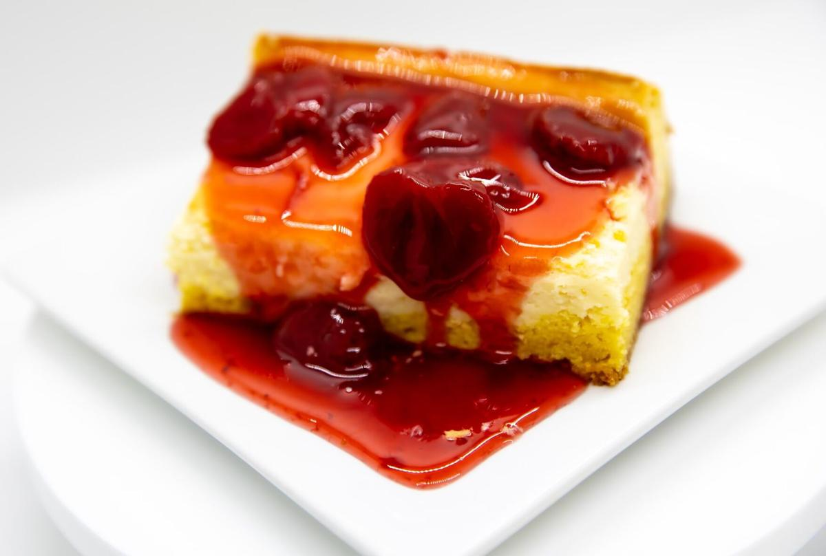 Perfectly Pastry cherry cheesecake