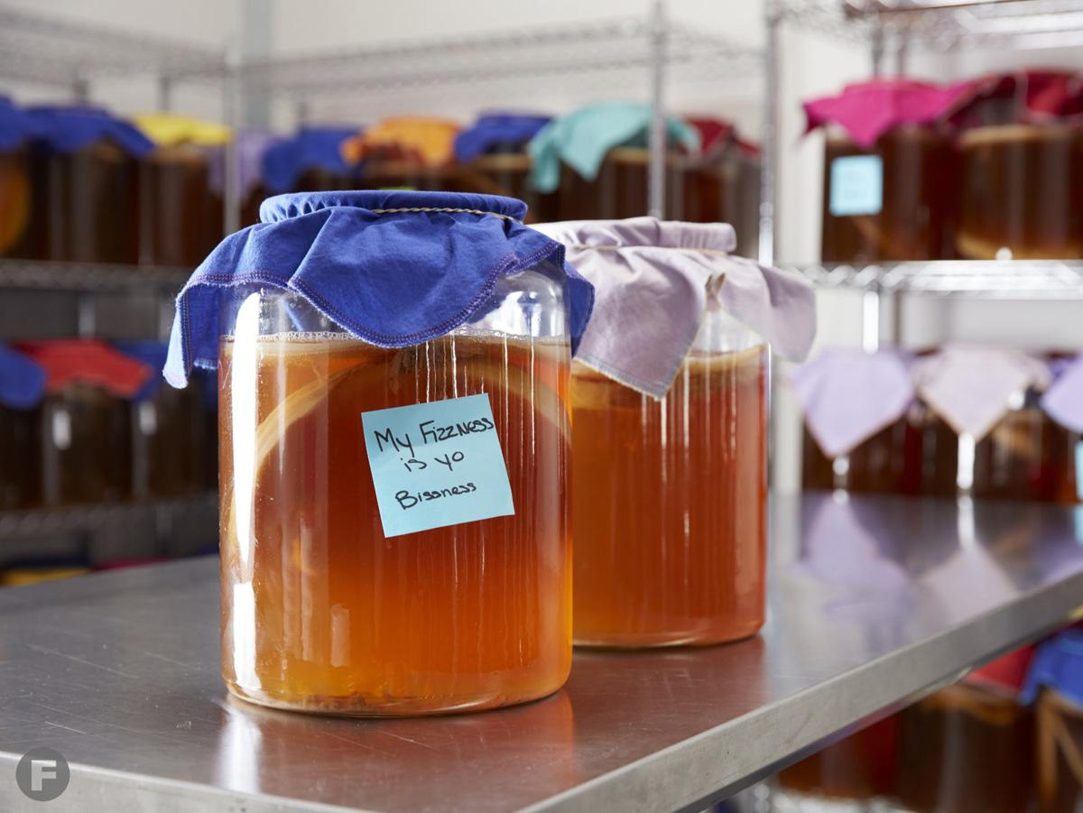 Tea-Biotics kombucha process