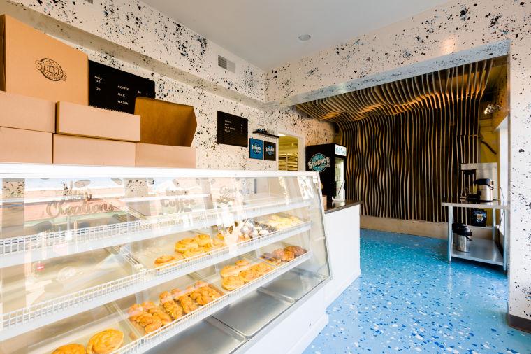 Inside Strange Donuts in Maplewood