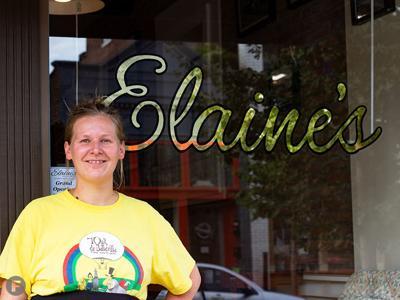 Elaine's Elaine Gruener