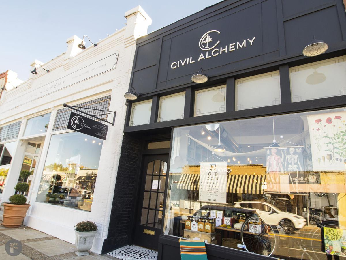Civil Alchemy Exterior