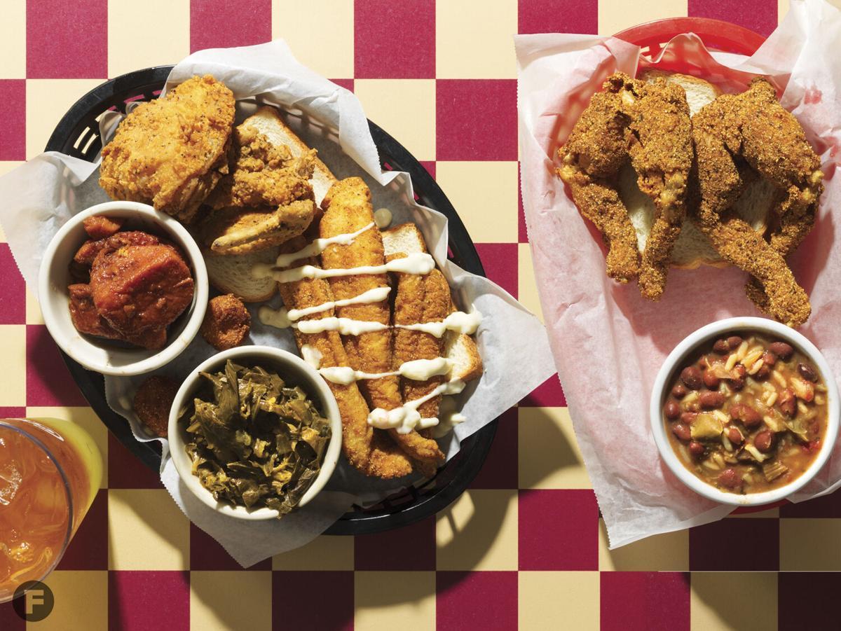 Ms. Kim's Fish & Chicken Shack Dishes