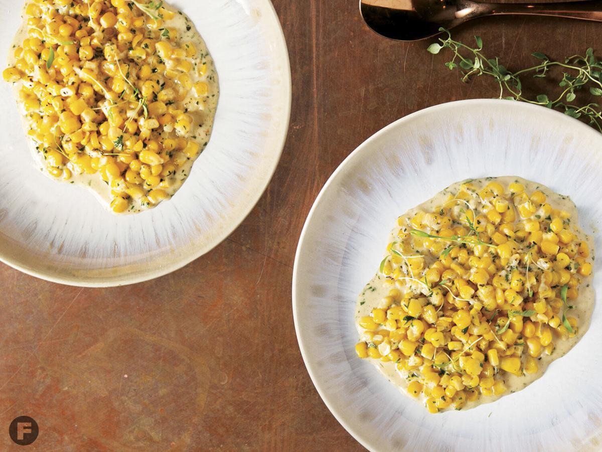 The Order Chèvre Creamed Corn