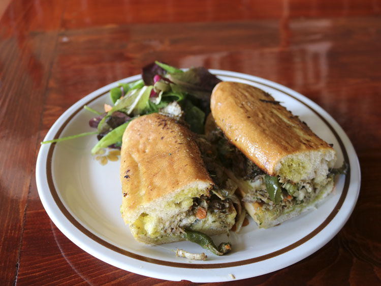 Take Root Café Cuban Sandwich