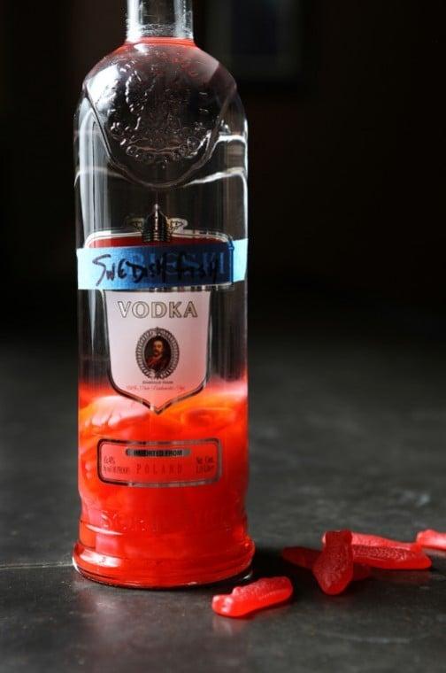 sweedish fish vodka infusion